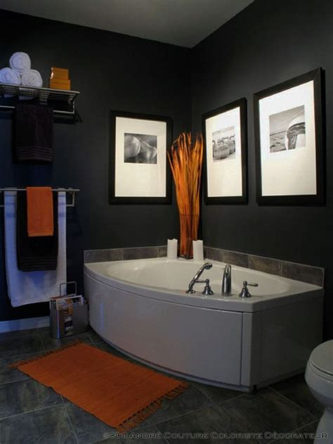 mens bathroom decor ideas  pinterest grey