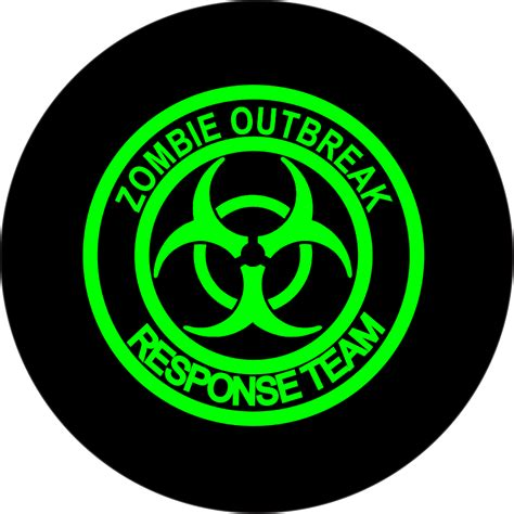 Outbreak Team outbreak response team spare tire cover