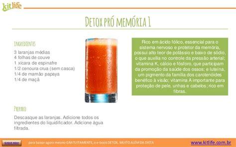 Memoria Detox by Detox 35 Receitas Deliciosas De Sucos Desintoxicantes