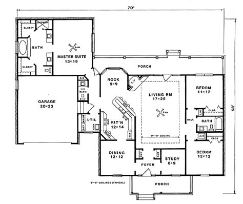 nhd home plans adult privacy in farmhouse plan 3403vl 1st floor master suite country den office library