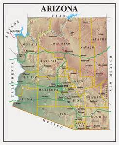 Southern Arizona Map by Printable Us State Maps Free Printable Maps