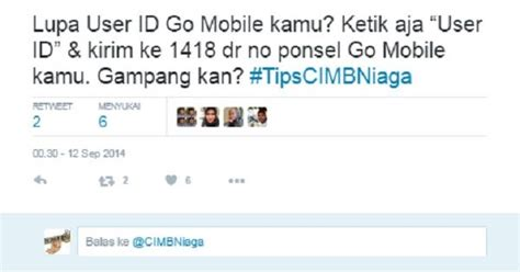 format sms banking bank bni syariah cara mudah mengatasi lupa user id go mobile cimb niaga