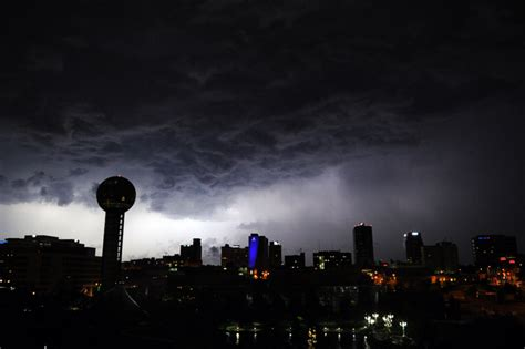 american lighting knoxville tn east tennessee hit by rain hail multiple tornadoes