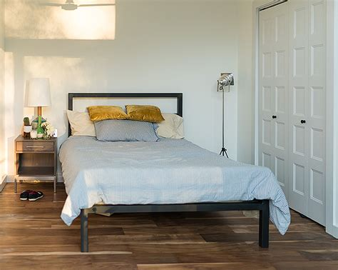 room and board parsons bed home tour theron humphrey of this wild idea room board