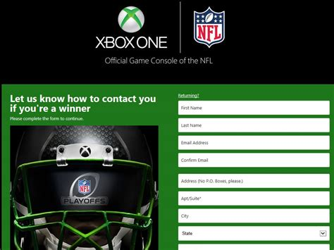 Sweepstakes Xbox One - xbox one playoff face off sweepstakes
