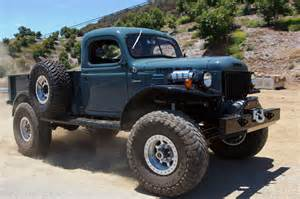 the wheel of the legacy classic trucks power wagon