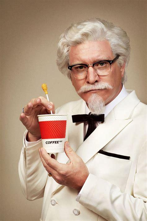 Coffee Kfc the colonel s coffee glossy