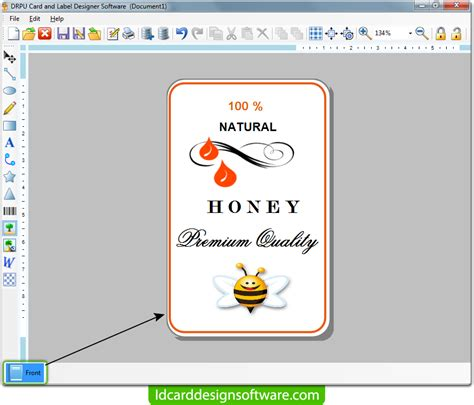 id card designer for mac design and print multiple id card and label design software screenshots how to design