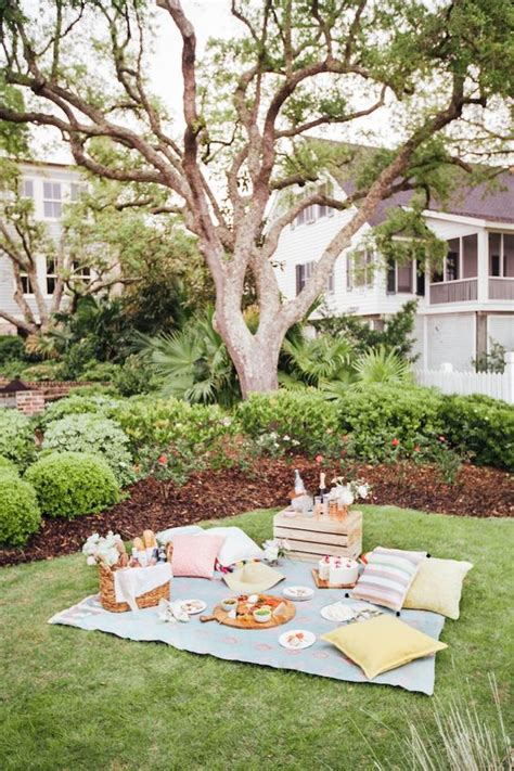 Summer Backyard by How To Picnic Like An Event Planner Beautiful Picnics