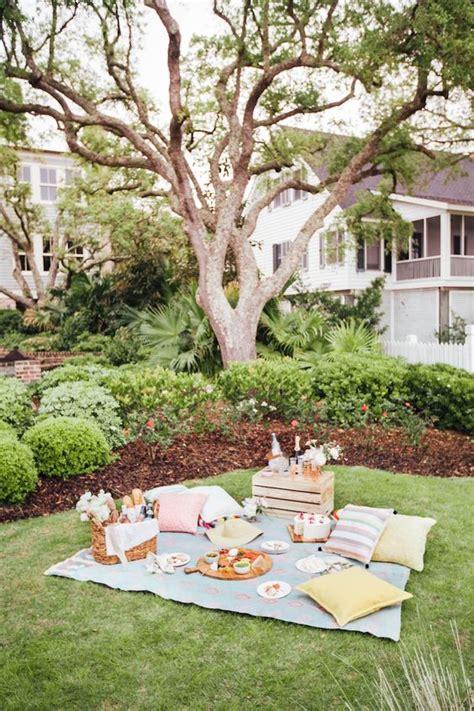 backyard picnic ideas how to picnic like an event planner beautiful picnics