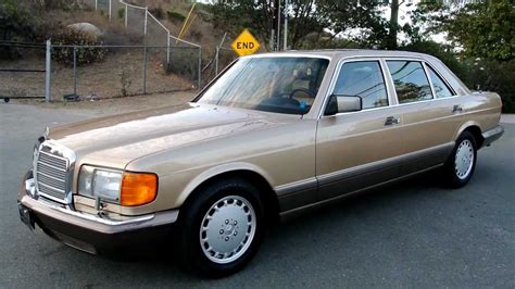 1986 Mercedes 420sel by W126 Mercedes 420sel 1 Owner 44 000 Original