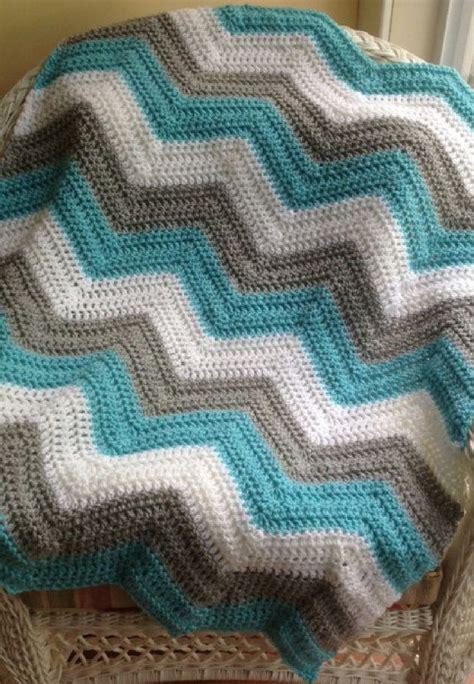 zig zag crochet pattern baby blanket new chevron zig zag ripple baby blanket afghan wrap