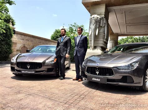 maserati delhi maserati reveals prices for india announces re entry