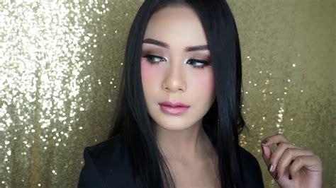 Makeup Di Sanggar Liza pink makeup tutorial by sanggar liza