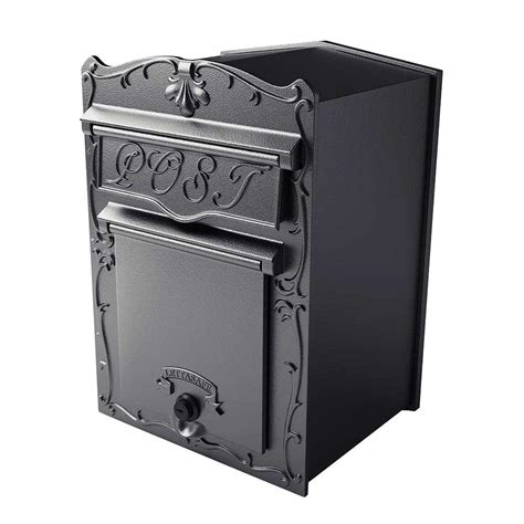 wall mounted locking wall mount mailboxes residential mailboxes mailboxes
