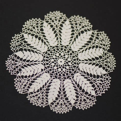 Vintage Home Interior Products by Antique Laser Cut Doily 1 Stewart Dollhouse Creations
