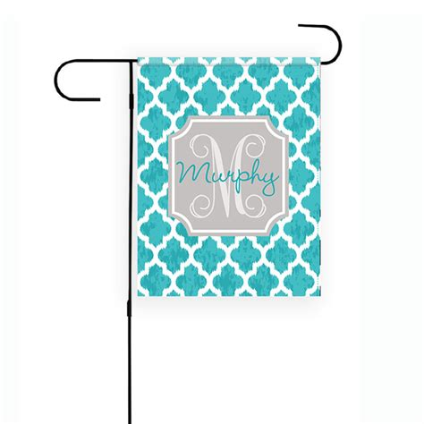 Garden Banners From by Ikat Garden Flag Personalized Moroccan Garden Flag