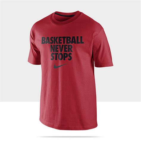 Tshirtt Shirtkaos Nike Basket Never Stops nike t shirt quotes quotesgram