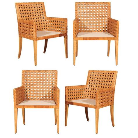 cane armchairs vintage stunning restored pair of large scale vintage cane