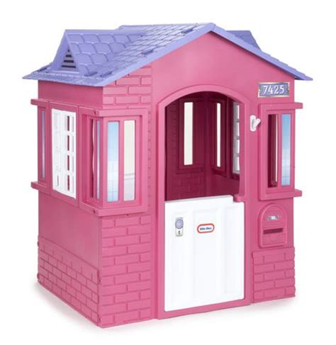 Little Tikes 174 Princess Cottage Playhouse Pink Walmart Ca Cozy Cottage Playhouse