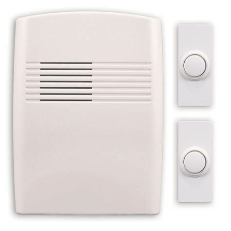heath zenith wireless battery operated door chime kit dl