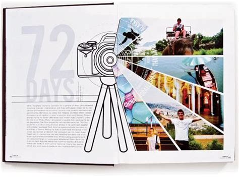 photography spread layout cool yearbook spread an amazing year other milestones