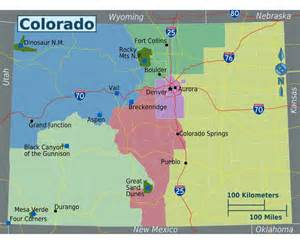 colorado map of state maps of colorado state collection of detailed maps of