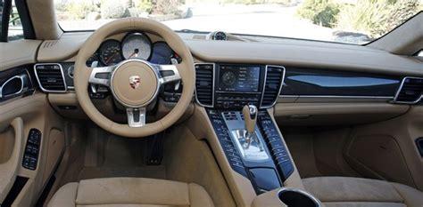4 Door Porsche Interior 2013 Porsche Panamera Gts W Autoblog