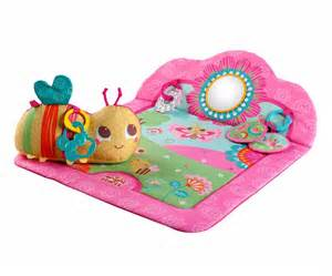 bright starts baby infant tummy time play mat exercise