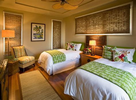 hawaiian cottage style tropical bedroom hawaii by