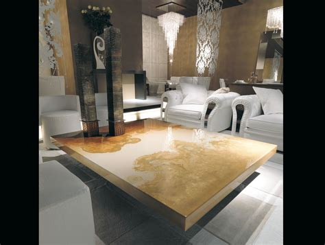 Decoro Furniture by Nella Vetrina Rugiano Decoro 9053 Upholstered Coffee Table