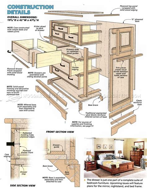 bedroom dresser plans oak dresser plans woodarchivist