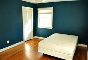 teal color paint bedroom bold teal walls a handy how we cut in