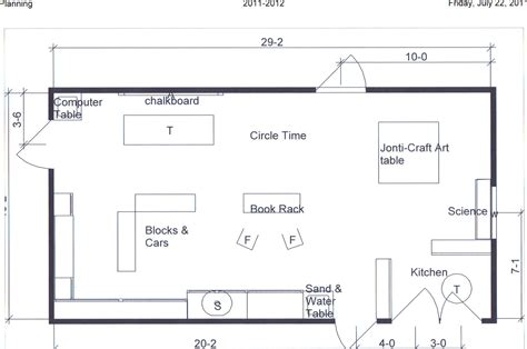 floor plan of a preschool classroom preschool teacher once again july 2011