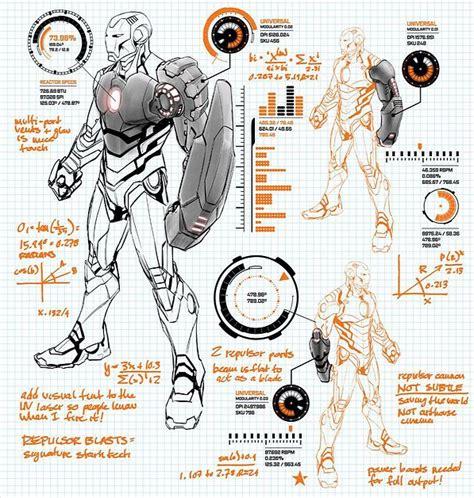 iron suit diagram ironman modular suit by carlo paguyan marvel now iron
