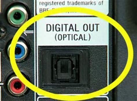 connect  modern tv  optical output