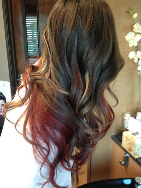 gallery blonde highlights onbre blonde peekaboos ombre and blondes on pinterest