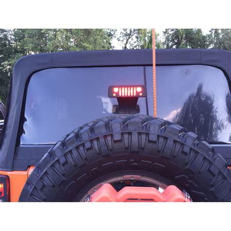 jeep jk third brake light jk 3rd brake light guard jeep tweaks jt12 b