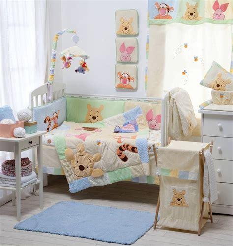 baby girl bed sets disney hiding pooh crib bedding collection 4 pc crib
