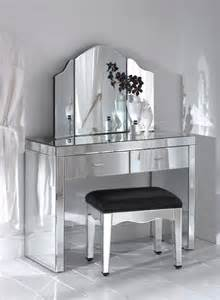 Designed by jamie graham the 50 s style mirrored dressing table
