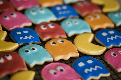 what color is the cookie color colors cookies pacman image 42363 on