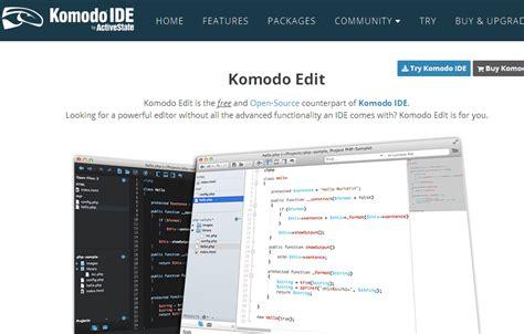 format html komodo edit 12 source code editors for web programmers