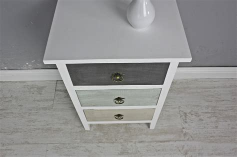 Kommode Holz by Chest Cabinet Wood White Multicolour Antique Pastel