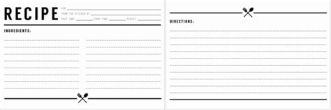 how to make your own recipe card template cookbook templates create your own recipe book word pdf