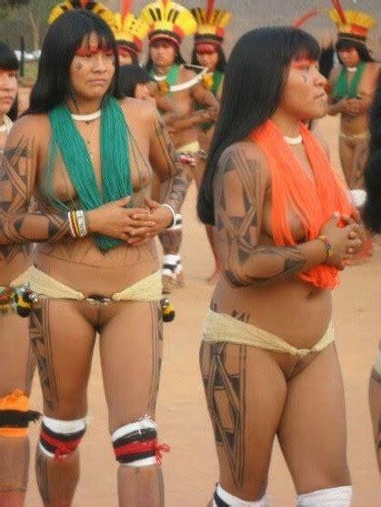 african natives shave pubic hair pin de brad renderman en brazilian amazon indigenous
