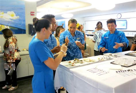 Flight Attendant Hawaii by Hawaiian Airlines New Class Featured Chef Series Tasty Island