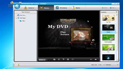 how to customize your own dvd menu
