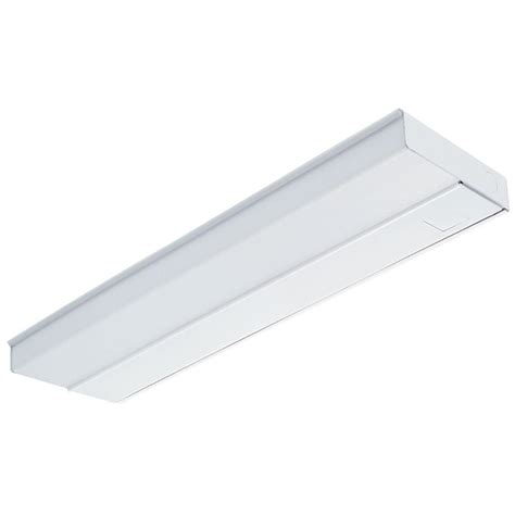 lithonia lighting 2 ft white fluorescent cabinet
