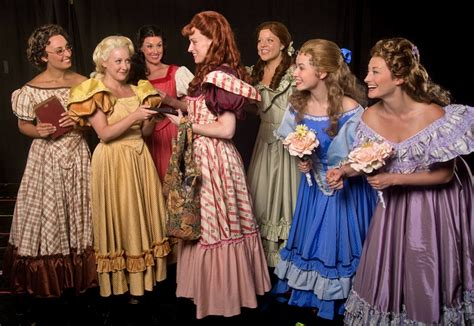 oklahoma musical hairstyles seven brides for seven brothers maine state music