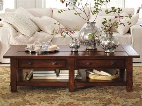 living room table decor rustic coffee tables for natural tones eva furniture